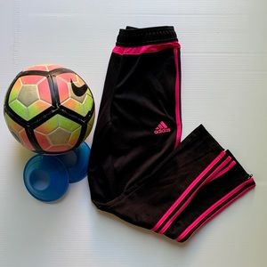 Adidas Tiro Soccer Pant - Black - Pink - Zippers